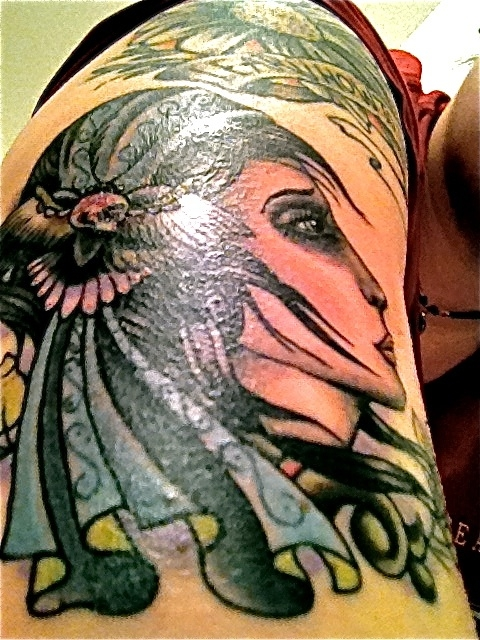 Beat the winter blues with a sailor jerry inspired tattoo for Sailor jerry gypsy tattoo